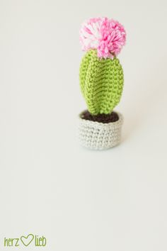 kaktus häkelanleitung