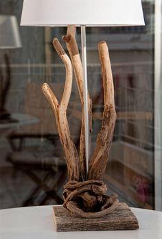 Luxurious Wooden Lamp, Driftwood Lamp, Natural Wooden Sculpture, Handmade Lamp