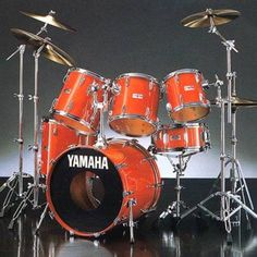 Yamaha Drums my kicks in black though. Yamaha Drum Sets, Acoustic Guitar Chords, Drummer Gifts, Girl Drummer, Yamaha Guitar, Guitar Chord Chart, Vintage Drums, How To Play Drums, Guitar Shop