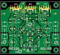 PCB Layout Design Crossover 2 Way | technology | Pinterest | Layout ...