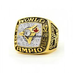 Blue Jays World Series, University Of South Carolina, The Great White, Championship Rings, Toronto Blue Jays, Bowling, Nhl, Best Gifts, Rings For Men