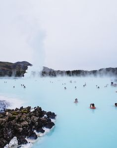 Image of blue lagoon - Iceland