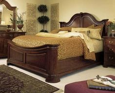AD-791-316R American Drew Cherry Grove 45th Anniversary Mansion King Bed $2100.00