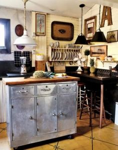 salvaged kitchen ideas