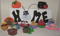 Handmade Wall Decor Painted wood Plaques Wood Signs by jusbcuz, $69.99