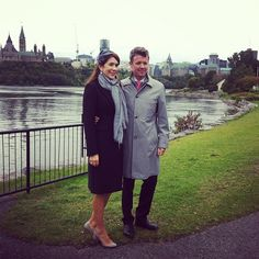 Crown Prince Frederik and Crown Princess Mary's Visit Ottowa, Canada 17 September 2014.