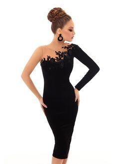 acd4a8aa24 2340 imágenes geniales de Vestidos de fiesta de gala de encaje en ...