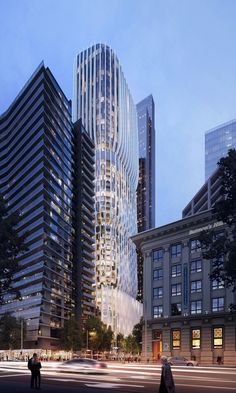 A $300-million tower designed by Zaha Hadid Architects and Plus Architecture has been approved by the Victorian government.