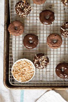 Gluten-Free Baked Chocolate Doughnuts