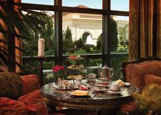 Afternoon Tea at the Grand America Hotel in Salt Lake City, Utah, is one of the most elegant tea experiences I have ever enjoyed!  My daughters took me here for my birthday, and I loved it!
