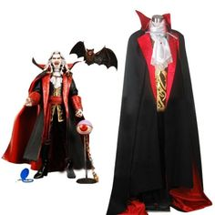 Castlevania Vampire Dracula Halloween Cosplay Costume For Sale