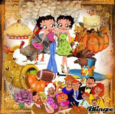 Thanksgiving With Betty Boop
