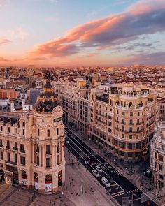 Madrid Spain - Architecture and Urban Living - Modern and Historical Buildings - City Planning - Travel Photography Destinations - Amazing Beautiful Places City Aesthetic, Travel Aesthetic, Building Aesthetic, Summer Aesthetic, Nature Architecture, Architecture Background, Beautiful Places To Travel, Romantic Travel, Pictures Of Beautiful Places
