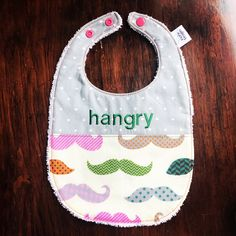 Unique Baby Gifts, Handmade Gifts, Moustache, Baby Bibs, Baby Shower Gifts, Trending Outfits, Etsy, Kid Craft Gifts, Bibs