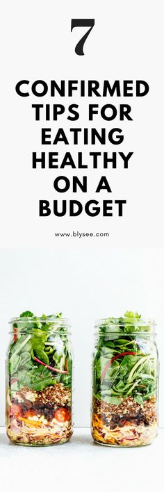 Have you ever wondered how to eat healthy on a budget? When I decided to embark on a healthier lifestyle and diet, I was surprised by how expensive healthier options could be. When you are on a budget, every dollar counts. The good news is Healthy eating does not have to be costly! Below are tips and tricks to use if you are trying to eat healthy while on a budget. #budget #healthyeating #mealprep #cleaneating #frugal #lifestylechange