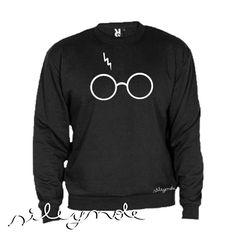 Sudadera unisex. Harry Potter sweatshilt. Custom. Personalizada. Algodón. Sudadera original. Vinilo textil. Sile y nole. Gafas de Sileynole en Etsy