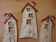 could do houses in conjunction with Dr. could do houses in conjunction with Dr. The post could do houses in conjunction with Dr. appeared first on Salzteig Rezepte. Fimo Clay, Polymer Clay Projects, Ceramic Clay, Ceramic Pottery, Clay Houses, Ceramic Houses, Pottery Houses, Clay Ornaments, House Ornaments