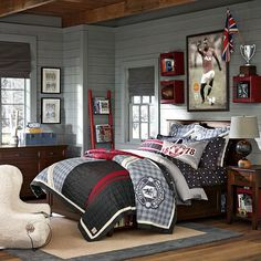 Стиль в простоте - Убранство комнат американских подростков.