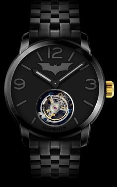 Memorigin Batman Tourbillon Watch For The Dark Knight Rises