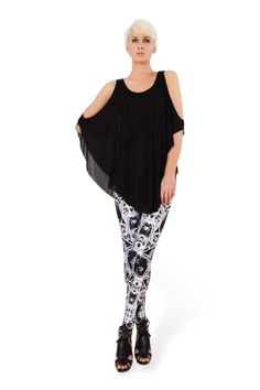 Snow Bath Leggings › Black Milk Clothing