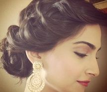 Inspiring picture elegant, hair, updo, indian, sonam kapoor. Resolution: 602x602. Find the picture to your taste!