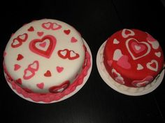 San Valentine's cakes
