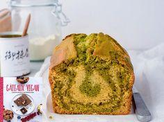 Avec les lectrices reporter de Femme Actuelle, découvrez les recettes de cuisine des internautes : Marbré thé matcha et vanille vegan