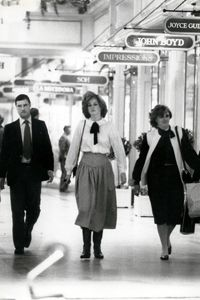 Diana in Brompton Arcade with Anne Beckwith Smith and PPO.