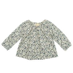 peasant blouse / ivory calico