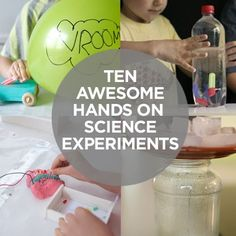 Science - hands-on experiments for kids