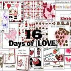 16 Days of Love {Math and Literacy Fun} $12.00  This cute Valentine themed set includes 16 files created with lots of love for you your Valentine fun.