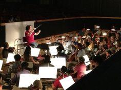 #ScalaTourJapan - 06/09/2013 - Tokyo NHK Hall - Rigoletto - Gustavo Dudamel rehearsing http://www.teatroallascala.org/en/season/tours/2012-2013/japan/rigoletto-giuseppeverdi-2013.html