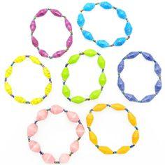 Child's bracelet - bright solid colors