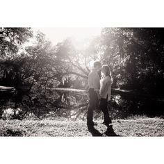 Who doesn't love black & whites & sunshine and a beautiful engaged couple?  #legarewaringhouse // @callmechappe #chappilyeverafter  @jenningsking #jenningskingbride #CharlestonSC #engagementsession #octoberbride #chsbride @pphgevents @wedcharleston makeup/hair: @cosbarcharleston