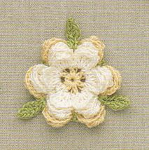 ...similar to the Irish crochet Rose; scroll down to pattern number 98 *