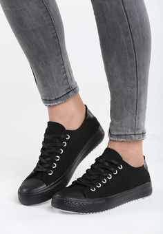 🔥 Tenisi dama Openit Negri #euforiamall Sneakers, Casual, Shoes, Fashion, Tights, Tennis, Moda, Slippers, Zapatos
