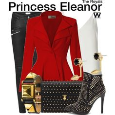 Inspired by Alexandra Park as Princess Eleanor on The Royals.