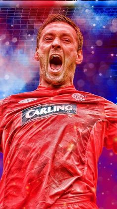 Rangers Football, Rangers Fc, Brian Laudrup, Faith Tattoos, Red White Blue, Teddy Bears, Glasgow, Past