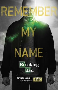 New poster for Breaking Bad's final episodes