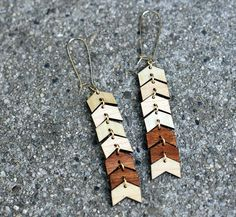 WILD & FREE Earrings // Made from repurposed WOOD by WoodKeeps