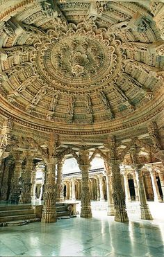 Dilwara Jain Temples - Rajistan, India Truly astonishing carvings and sculpting