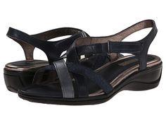 ECCO Sensata Cross Strap Sandal