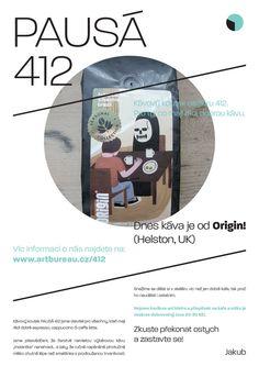 PAUSÁ 412 - Coffee poster (Origin - Helston, UK)