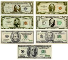 dolares imprimibles miniatura