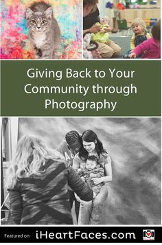 Charitable Ideas for Photographers: Giving Back Through Your Photography via the I Heart Faces Community