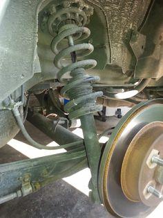 Corolla DIY: DIY - Rear Strut Replacement  2000 Infiniti I30