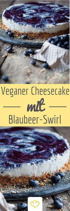 Veganer Käsekuchen? Ja, das funktioniert tatsächlich! Eine feine Creme aus…