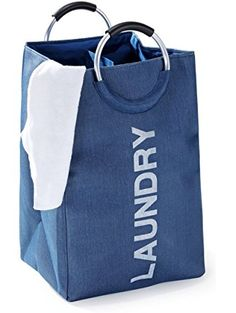 fragrantt laundry bag hamper with round handles for easy sorting and carrying dhg