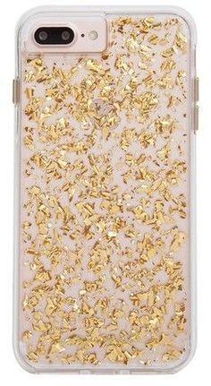 Case-Mate iPhone 8 Plus/7 Plus/6s Plus/6 Plus Case Karat - Gold #iphone8pluscase, #iphone8plus,