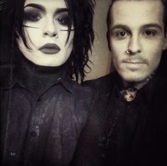 """Devin """"Ghost"""" Sola and Ryan Sitkowski- Motionless In White"""